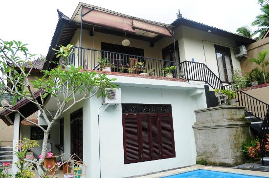 Deta Junjungan Rice Field Villa: La villa de 6 pers sur 2 étages