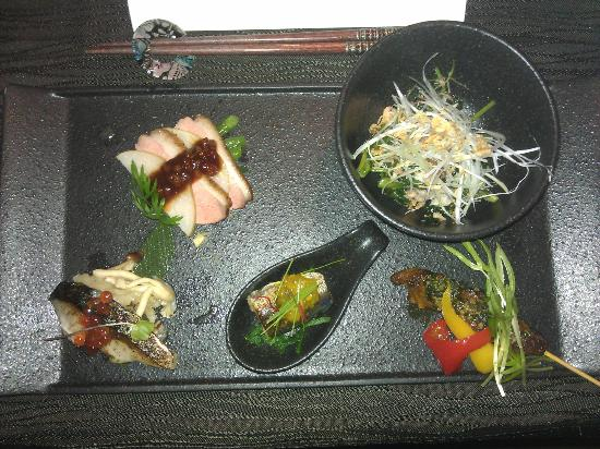K'shiki All-Day Dining: Vorspeise.