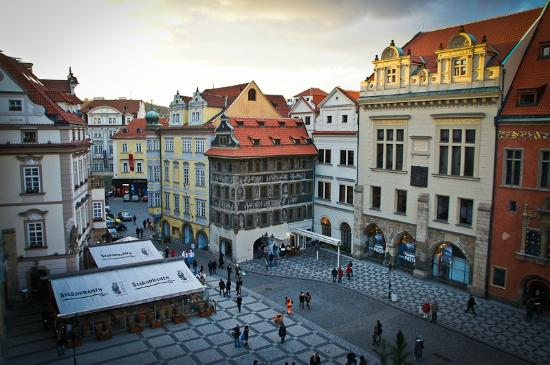 Grand Hotel Praha: View from the Grand Deluxe/Attick Suite