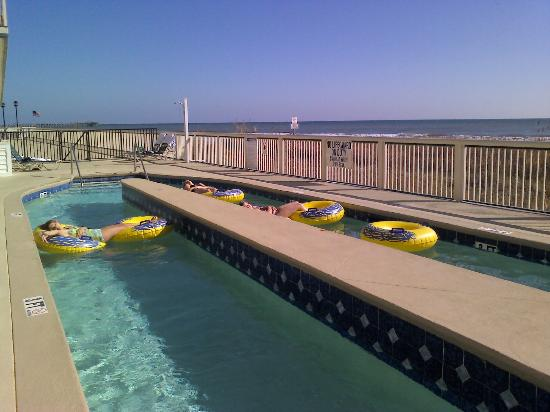 lazy river picture of westgate myrtle beach oceanfront. Black Bedroom Furniture Sets. Home Design Ideas