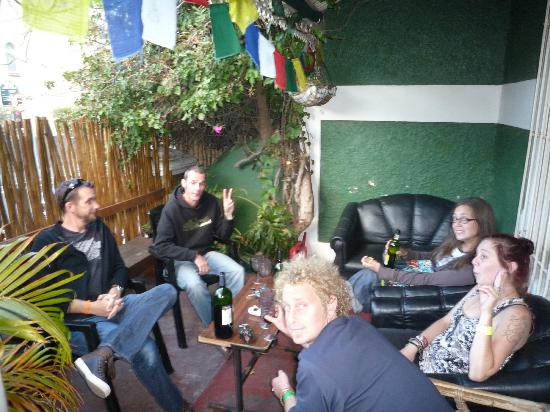 African Heart Backpackers: outside