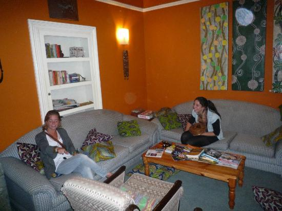 African Heart Backpackers: good place to chill