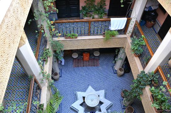 Riad Mogador: Giardino interno