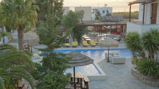 Summerland  Holiday's Resort: vue du balcon de notre chambre