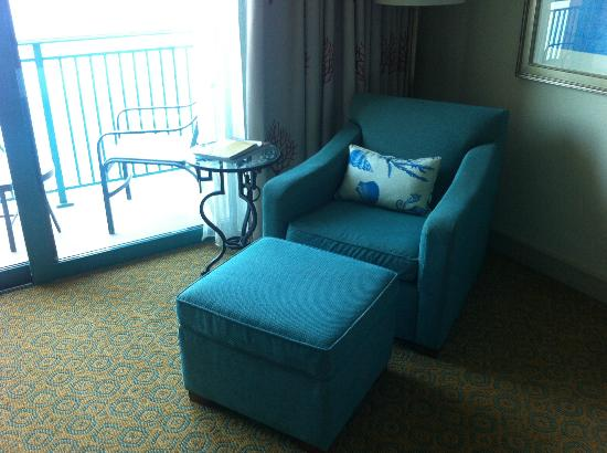 Atlantis, The Palm: Arm chair in room