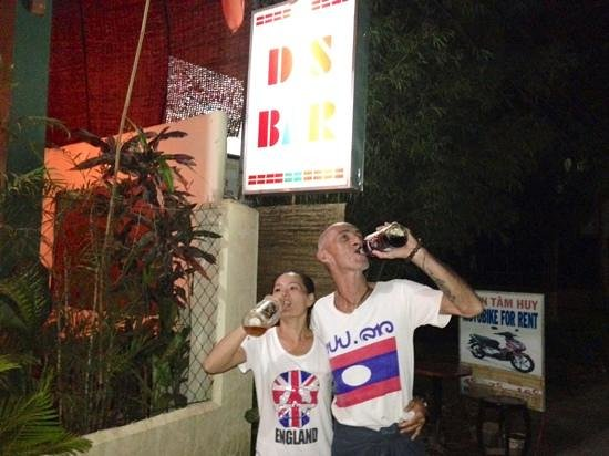 Phu Quoc Island, Vietnam: The awesome owners of DS Bar: Diem and Stephane!