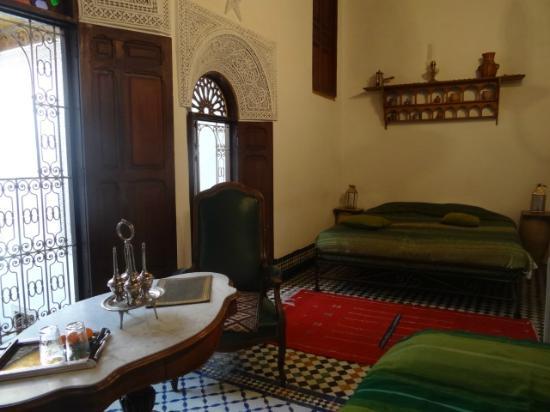 Riad Boujloud: la chambre