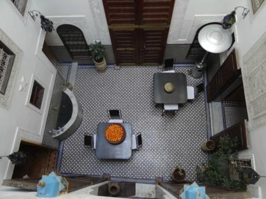 Riad Boujloud: le patio