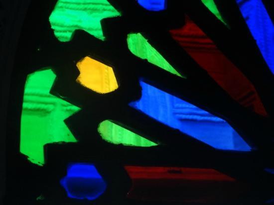 Riad Boujloud: les vitraux du riad