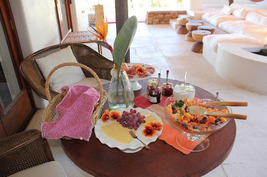Camps Bay Ridge Guest House: Ein Teil vom Frühstück