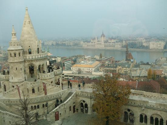 Hilton Budapest: Room with a view