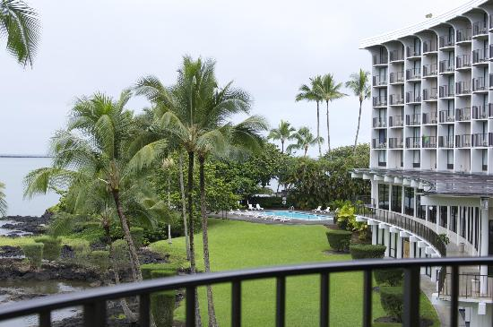 Castle Hilo Hawaiian Hotel: 眺めいいです。