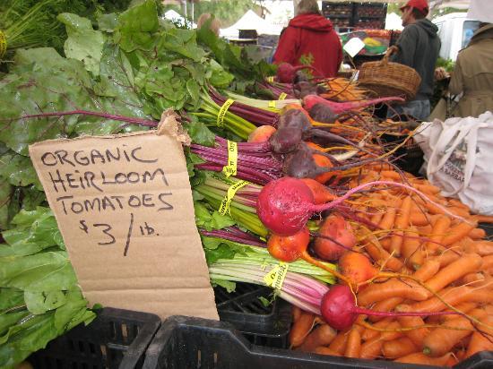 Market Forays: Beautiful Veggies