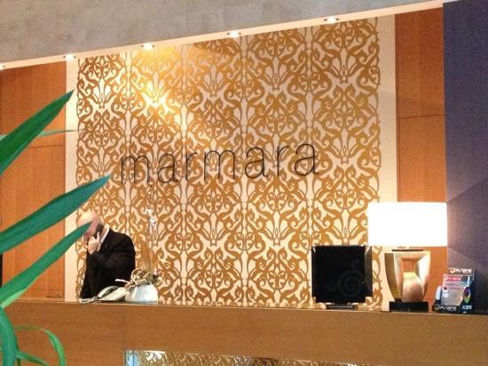 Marmara Hotel Budapest: reception