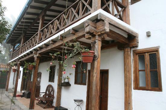 Hosteria La Quinta: La Quinta vue des chambres du devant