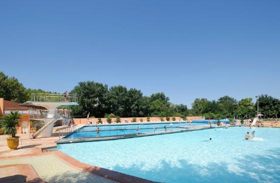La Palmeraie : L'espace piscine