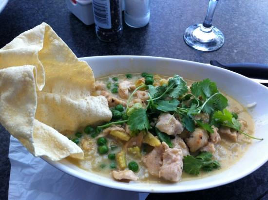 Java Cafe : grünes Thai-Chicken-Curry