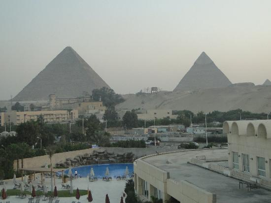 Le Méridien Pyramids Hotel & Spa: Another view from my room