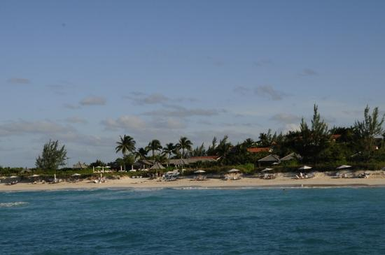 Parrot Cay by COMO: View from the ocean