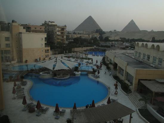 Le Meridien Pyramids Hotel & Spa: View from my room