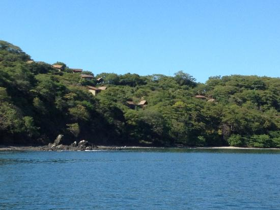 Four Seasons Resort Costa Rica at Peninsula Papagayo: Returning to resort by water taxi from Playa del Coco