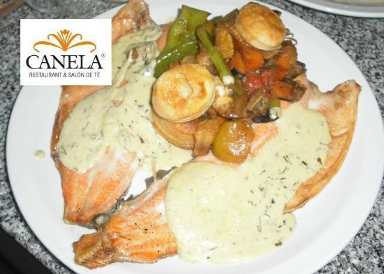 Canela Restaurant: Trucha del día! Imperdible!