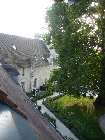 Chateau de Fere: View from the one of living-room windows