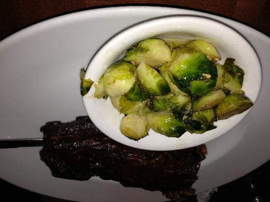 The Shaved Duck: Baby Back Ribs and Brussels Sprouts