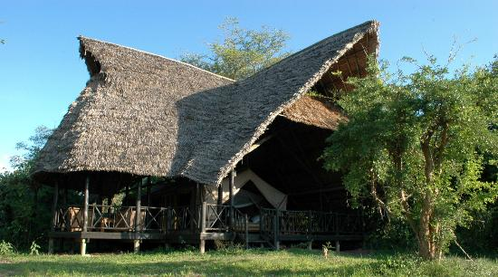 Selous Game Reserve, Tanzania: Riverside Tent