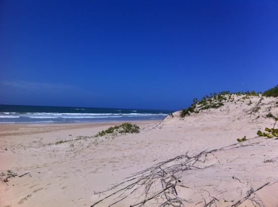 Moya Manzi Beach House: tolle Dünen