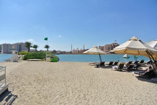 Fairmont Bab Al Bahr: Stranden