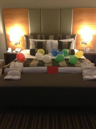 Crowne Plaza London - Docklands: Perfect surprise for my partner