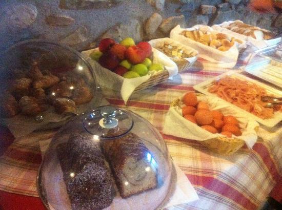 Casale Antonietta: La colazione