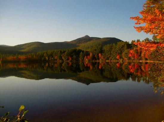 Lake Chocorua in Autumn