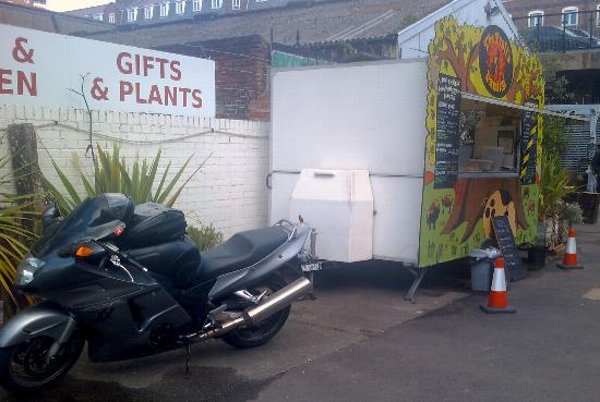 The Druids Arms : Where there's burgers there's bikers