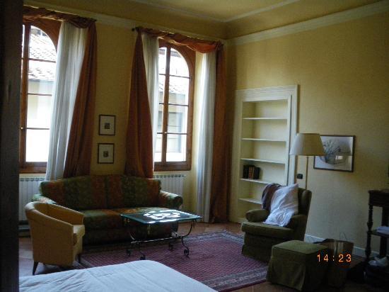 Palazzo Alfani al David: Bedroom on the patio side