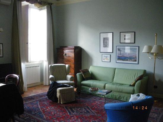 Palazzo Alfani al David: Living room
