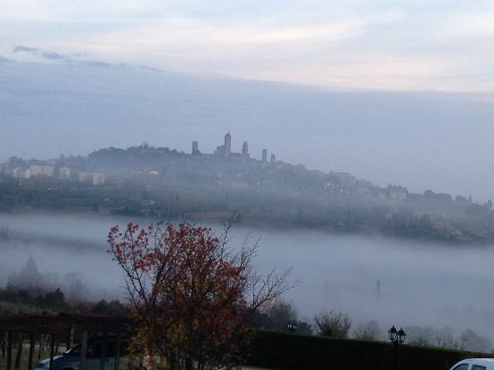 Agriturismo Il Casolare di Bucciano: Mornings