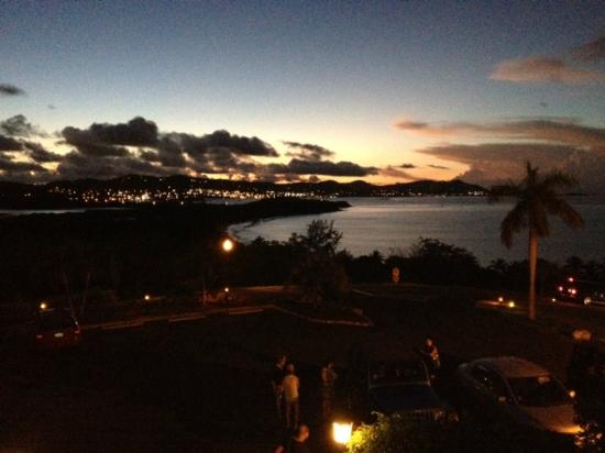 The Buccaneer St Croix : Sunset View from the main house terrace
