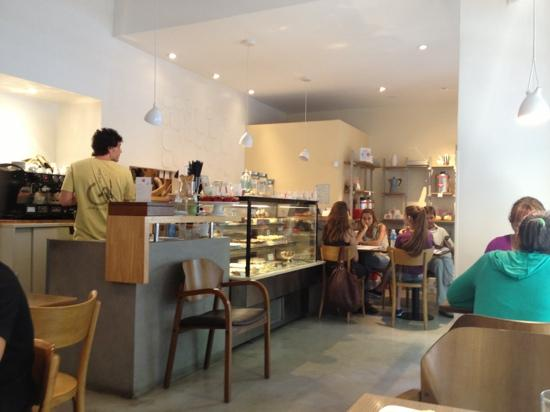 Delicious cafe : inside the cafe