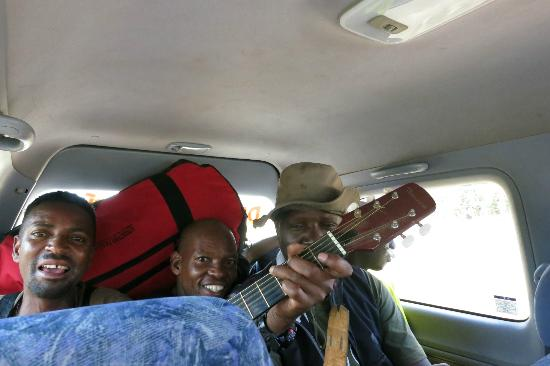 Mount Kilimanjaro: Who Needs a Radio When You Have a Guitarist