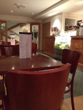 The Lodge in the Vale: cafe / breakfast room