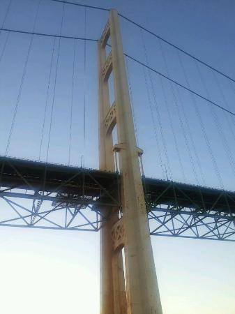 Ugly Anne Boat Cruises: Mackinac Bridge