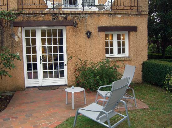 Maison D'hotes Lagatine: Chambre avec terrasse privé