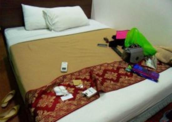 V'la Park Hotel: bed