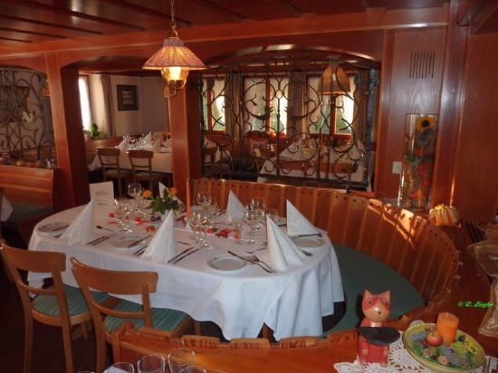 Akzent Hotel Lawine: Restaurant View