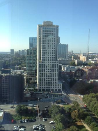 Loews Atlanta Hotel: View from room of downtown Atlanta
