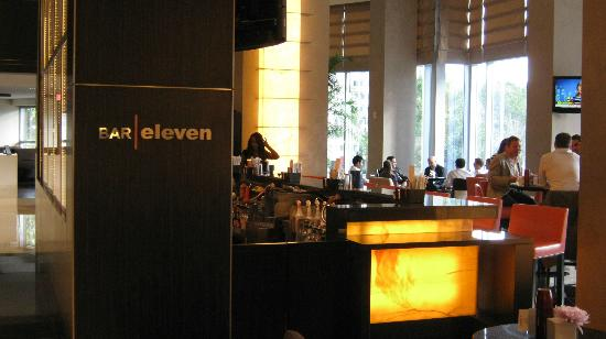 Loews Atlanta Hotel: Bar Eleven