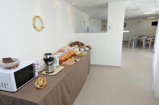 Apparthotel Olympe a Antibes: Restaurant