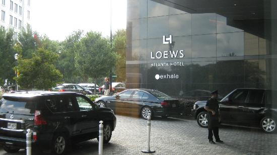 Loews Atlanta Hotel : Entry Valet